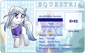 Character Card : White Snow by vavacung