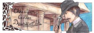 Bookmark - Deansworth by Madda-Sketches