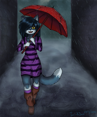 Northern Downpour by Ixi-Nox