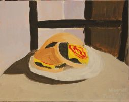 Cheeseburgers in Still Life by TheSkaldofNvrwinter