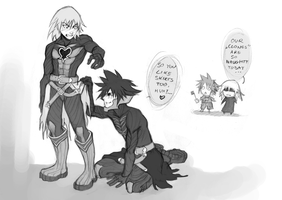 KH: Naughty Clones by Anyarr