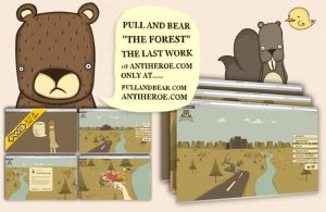 Pull And Bear 'The Forest' by antiheroe