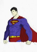 Superman - Color by TheoDJ