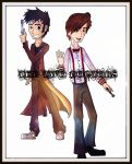 The Two Doctors by LivingAliveCreator