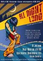All Night Long: concert poster by blayrd