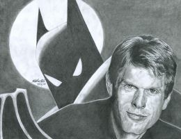 Kevin Conroy:  The One and ONLY Batman by Yamigirl21