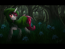 Pt commission : Everfree forest by Kocurzyca