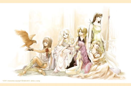 MYth: The Goddesses by zeldacw