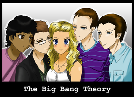 The Big Bang Theory by Pink-Scribble