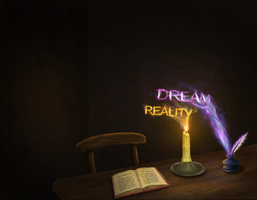 Where dream meets reality by uprising93
