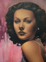 Hedy lamar by pencil206
