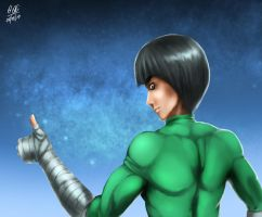 rock lee by the-speed-demon