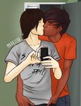 Percico Kisses by Markiehh