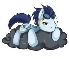 Snoozy Soarin by Ende26