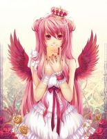 Anime Angels featured art - Iris by animeangelsbook