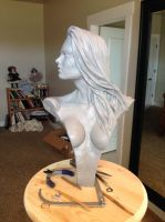 Wood Nymph Armature and Hair by ddorrity