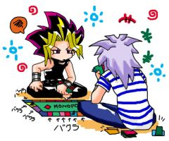 Darn Bakura,you cheated by ryo-hakkai