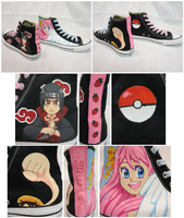 Painted Converse - Misha ver by glyfy