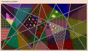 Pixel Quilt 6 by Luffy0001