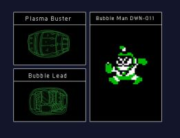 Data Disc: Bubble Man by octobomb
