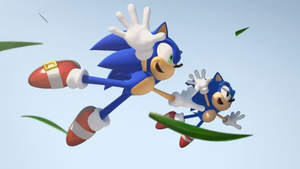 sonic generations trailer shot by JOLTTHEHEDGEHPG09