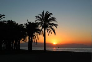 Sunrise in Torremolinos by AgiVega