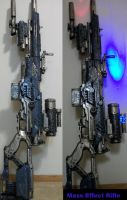 Fem Garrus Mass Effect Gun by truesanji