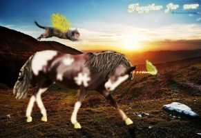 For ever together- Manipulation by Tumbling-Star