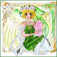 Fuu from Magic Knight Rayearth by Elichan83