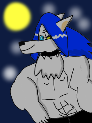 Tyler the White Wolf. by tylercuddletail