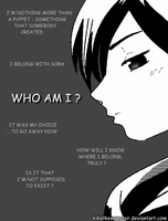 Xion - Who am I ? by KibatheMonster