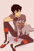 Keith and Poochyena by JE3