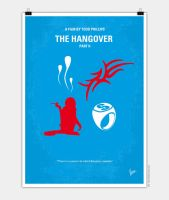 No145 My THE HANGOVER Part II minimal movie poster by Chungkong
