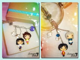 Studio Ghibli Necklaces Collection II by SentimentalDolliez