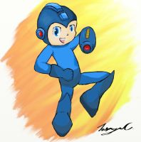 My Attempt at Megaman by Gobityn