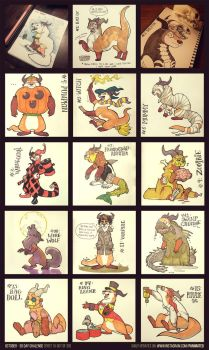 30 Day Halloween Challenge (15 out of 30) by Panimated