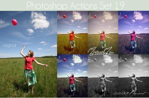 Photoshop Actions 19 by IGotTheLook