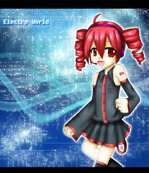 Electro World :Request: by pinkhaired-presea