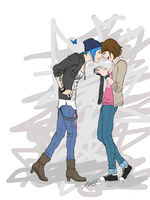 Life Is Strange: Chloe and Max by friedChicken365