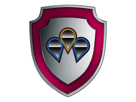 Pinkie Pie Shield of Honor TRANSPARENT by SwedishRoyalGuard