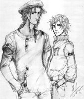 Ramon and Cedric by Ameyama