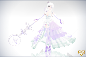 MMD - The White Queen by kinoko-hiou