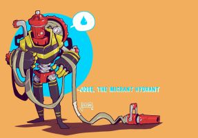 Jose, the Migrant Hydrant by jouste