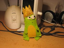 Frog prince by PsychedelicOctopuss