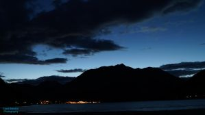 Achensee at night by DomBrezina