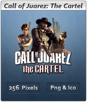 Call of Juarez The Cartel Icon by Crussong