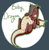 Baby Dragon by lunedragonfly