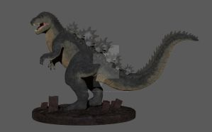 Godzilla (Destroyer of Worlds) by malevouvenator