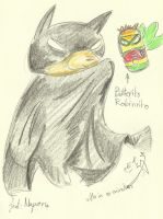 Batwil and Robinrito! by Winged-Dragoness