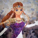 Princess Zelda Collage by sscjl14